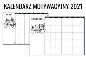 kalendarz motywacyjny 2021